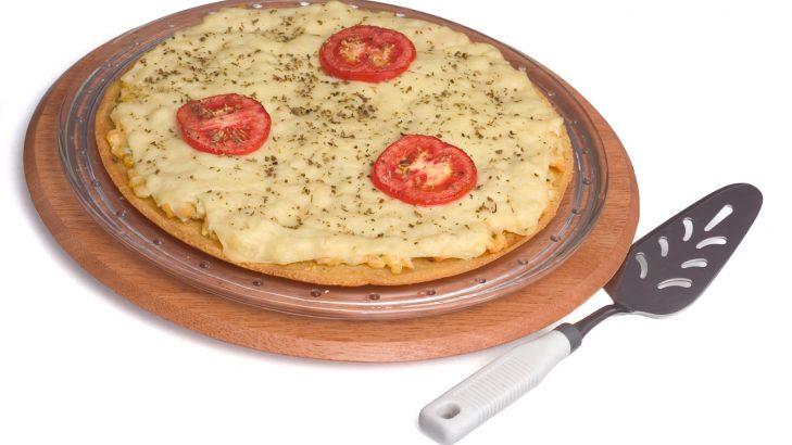 Foto de: Pizza crocante de milho
