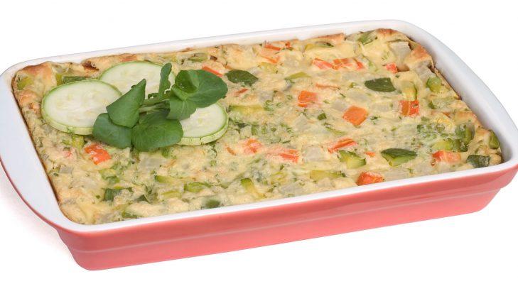 Foto de: Torta diferente de legumes
