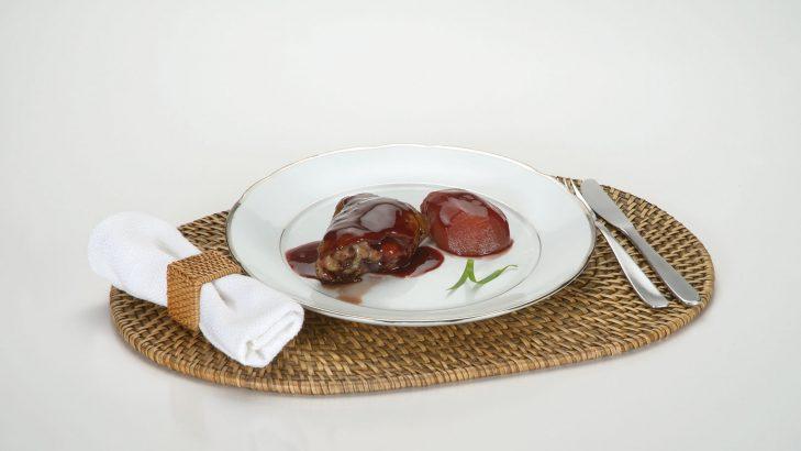 Foto de: Frango ao molho de suco de uva, mel e gengibre