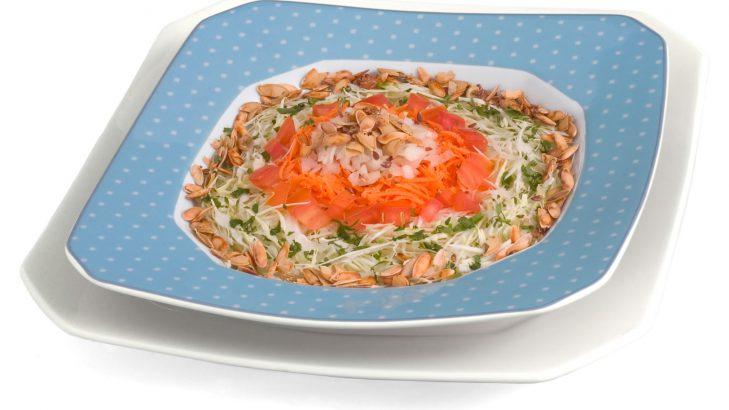 Foto de: Salada com sementes