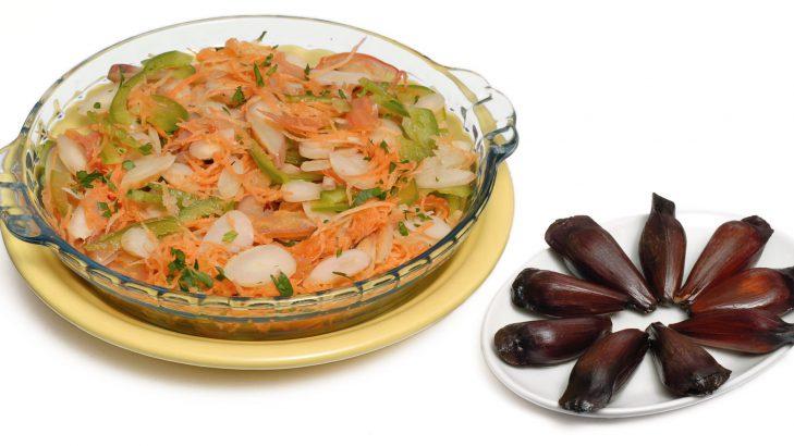 Foto de: Salada de pinhão