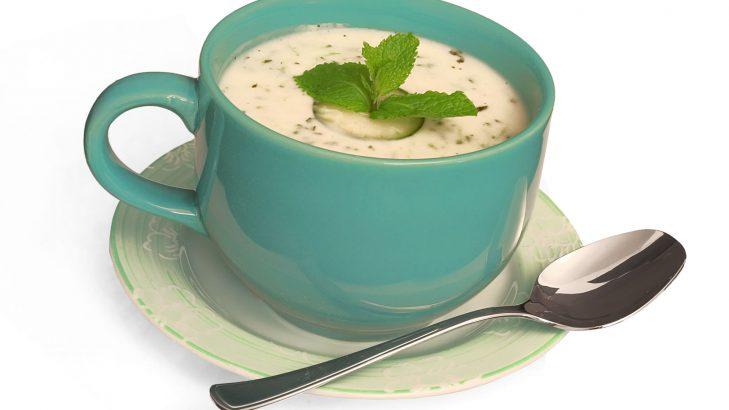 Foto de: Sopa fria de pepino