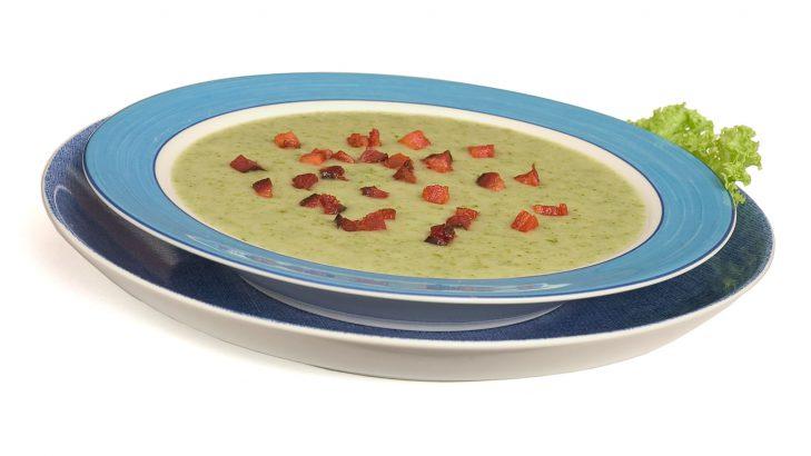 Foto de: Sopa saborosa de alface