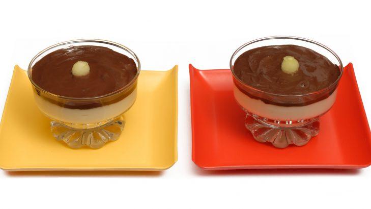 Foto de: Flan nevado com chocolate