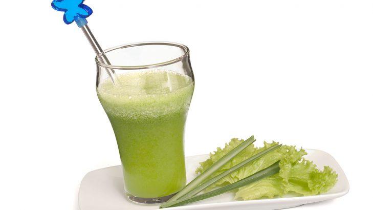 Foto de: Refresco de alface com erva-cidreira