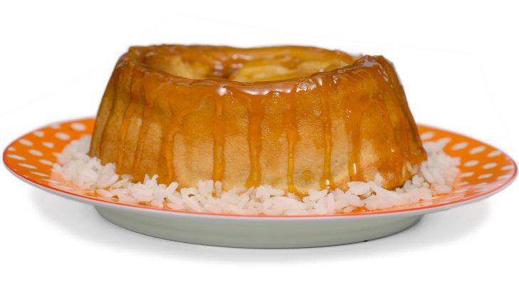 Foto de: Pudim de arroz