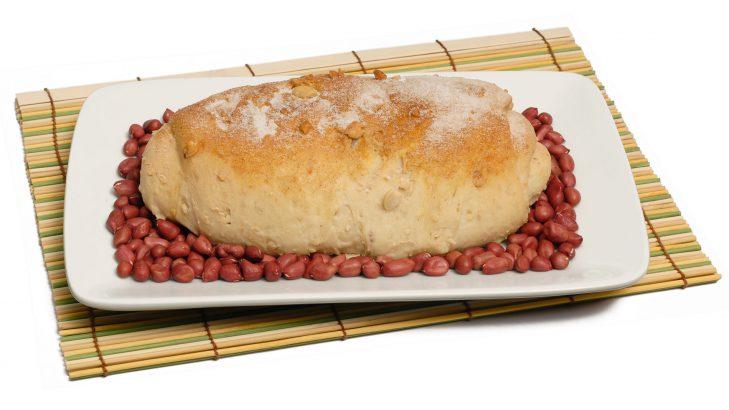 Foto de: Pão de amendoim