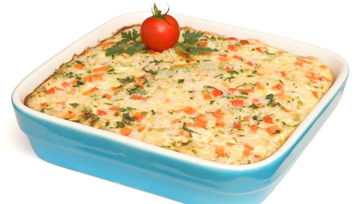 Foto de: Omelete assada de arroz