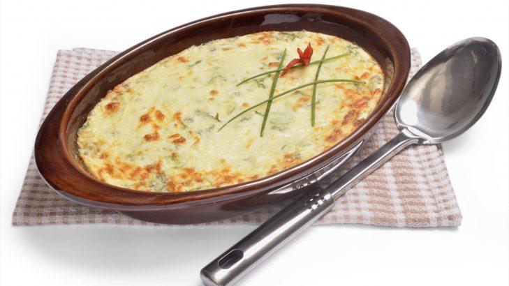 Foto de: Bolo de hortaliças com arroz