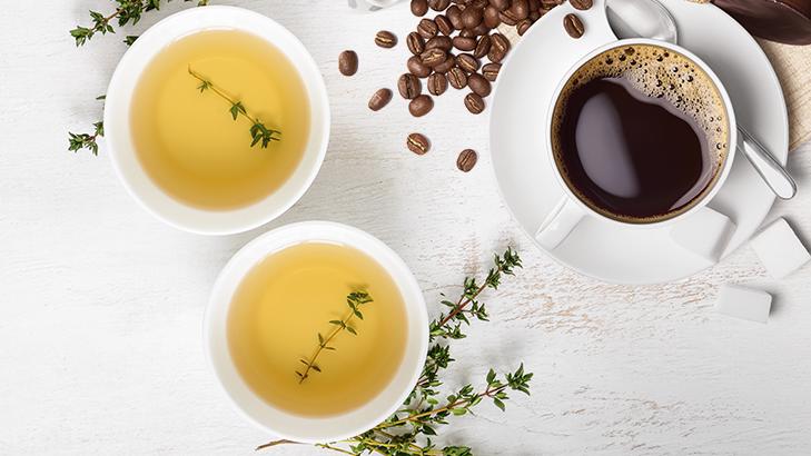 Foto de: Café, chá e guaraná